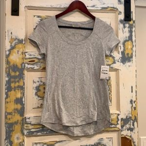 Zella NWT XS activewear Shirt Grey